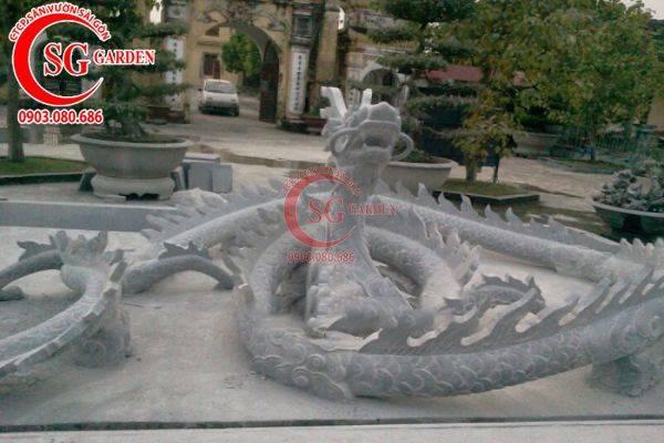 Cung cấp hoa văn tượng rồng trang trí chùa 1