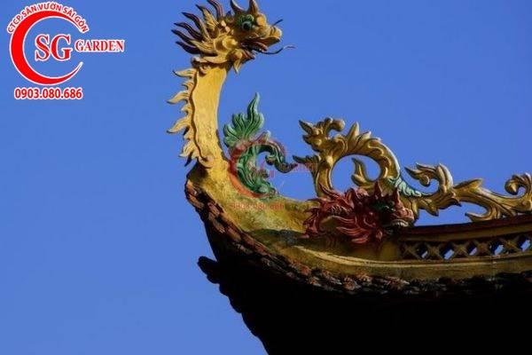 Cung cấp hoa văn tượng rồng trang trí chùa 2