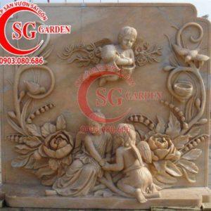 Tranh phù điêu thiên thần composite 4