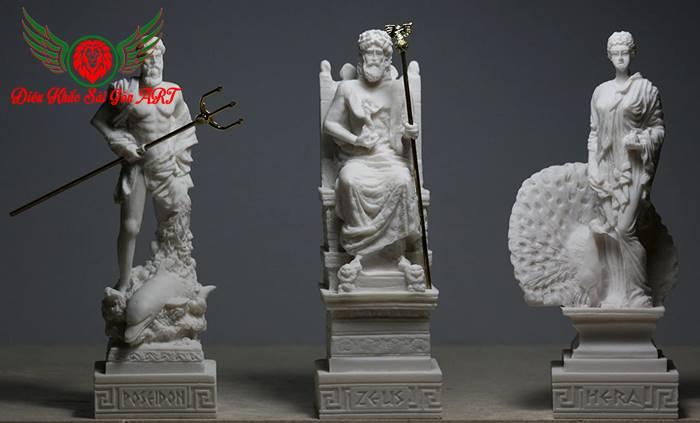 Tượng 12 vị thần hy lạp 4